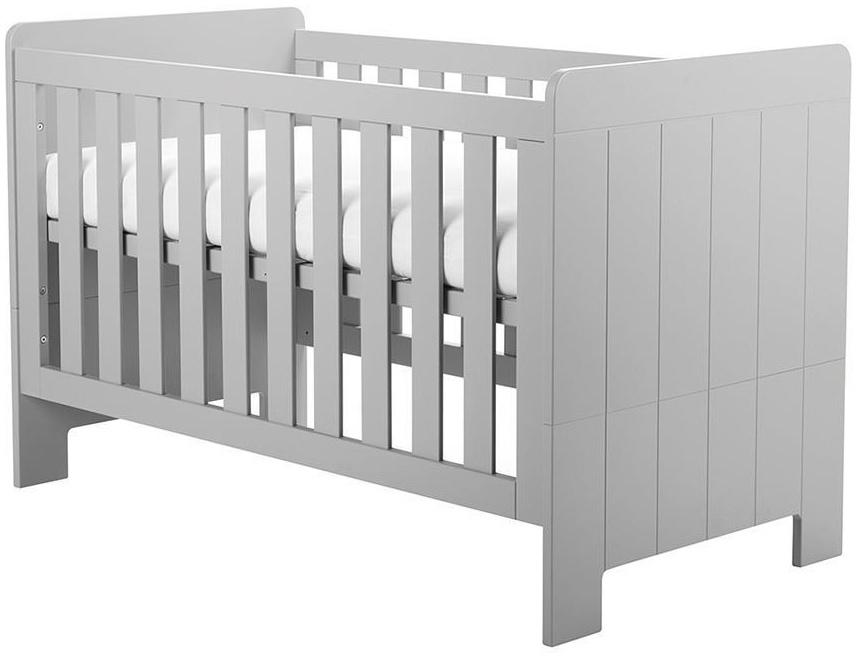 Pinio 'Calmo' Kombi-Kinderbett grau, inkl. Umbauseiten Bild 1