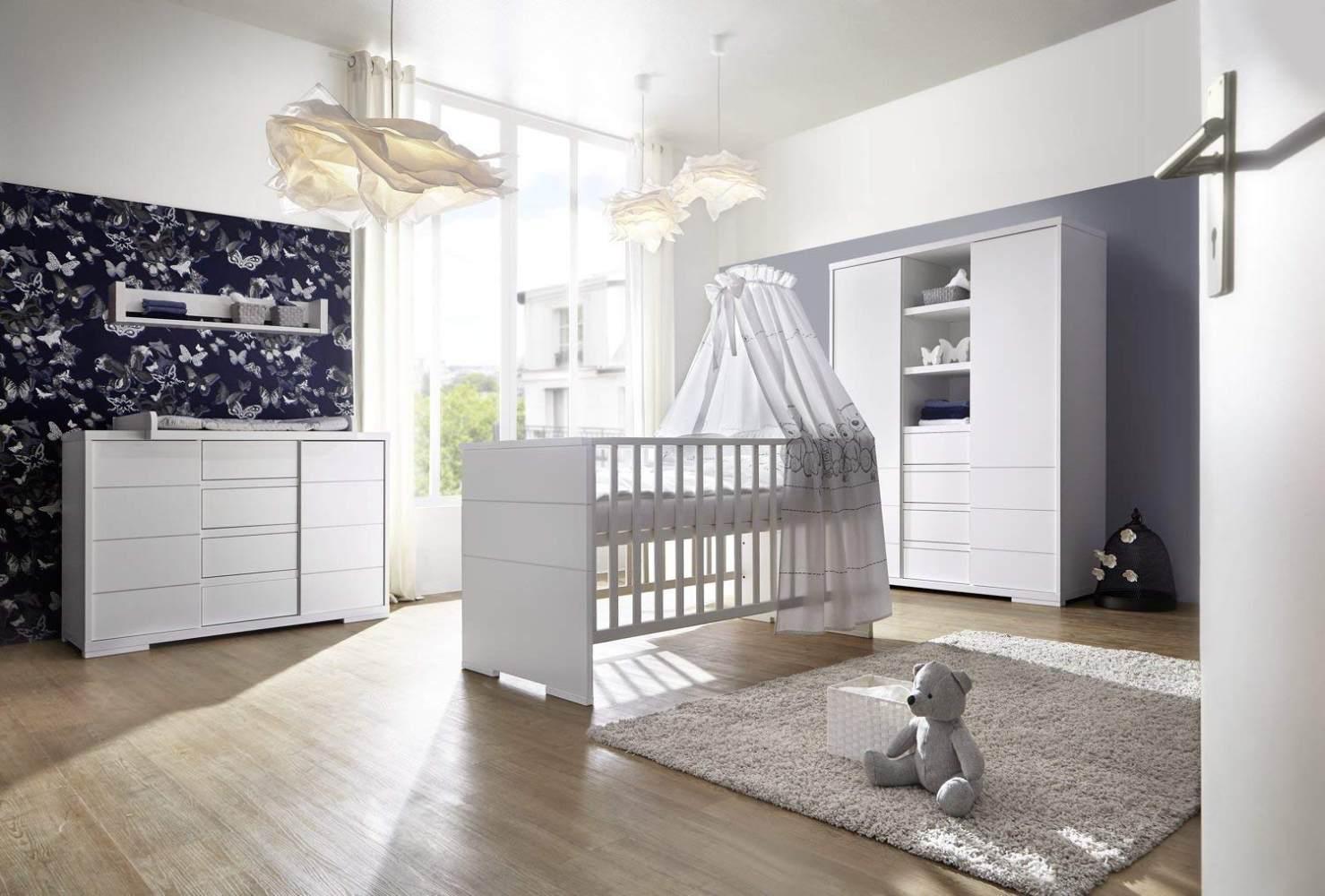 Schardt 'Maxx White' 3-tlg. Babyzimmer-Set Bild 1