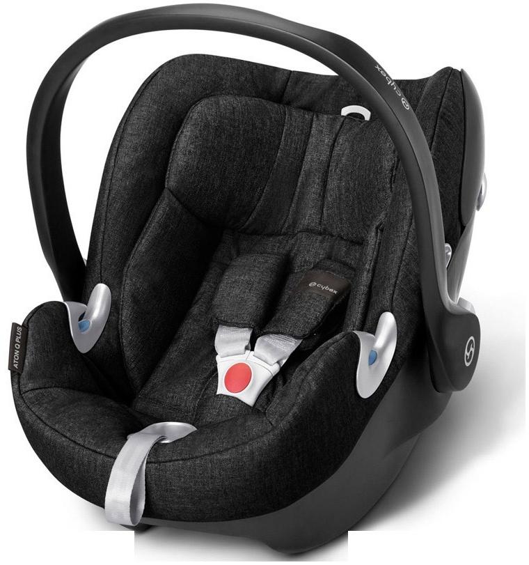Cybex 'ATON Q PLUS' Babyschale, schwarz Bild 1