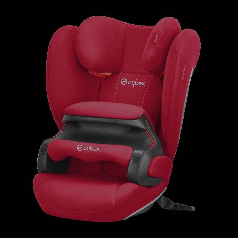 Cybex Silver 'Pallas B-Fix' Kindersitz 2020 Dynamic Red Gruppe 1/2/3 Bild 1