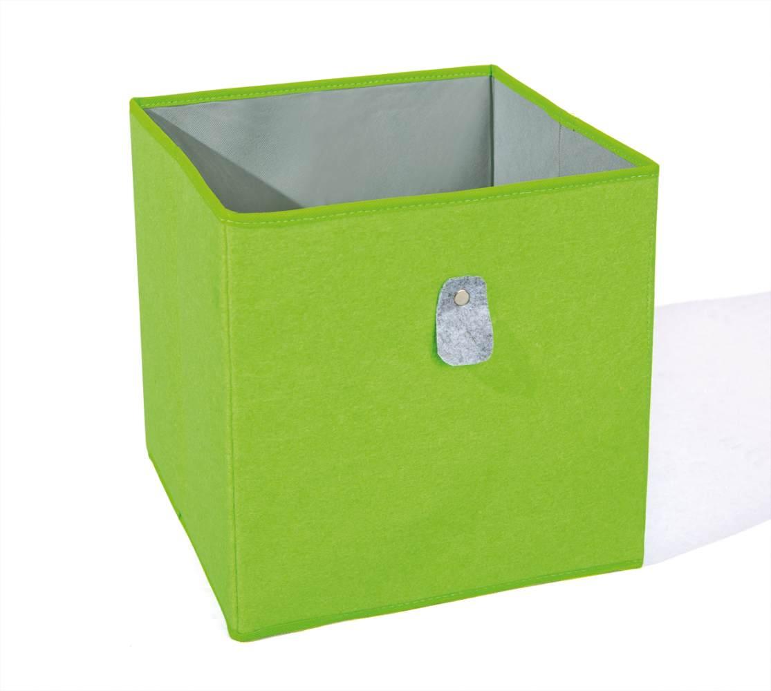 Interlink Faltbox 'Widdy' grün/grau Bild 1