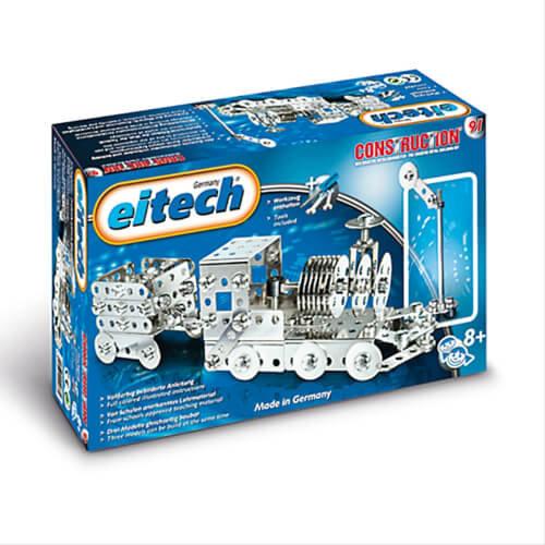Eitech - Lokomotive mit Anhänger Bild 1