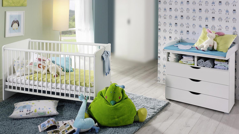 Rauch 2-tlg Babyzimmer-Set 'ALVARA 1' alpinweiß Bild 1