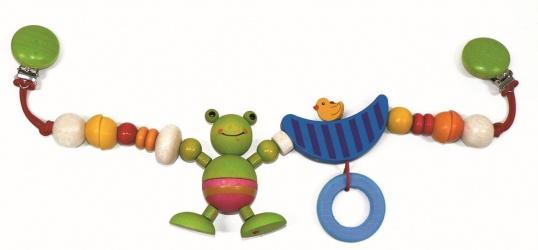 Hess-Spielzeug Wagenkette, Frosch Bild 1