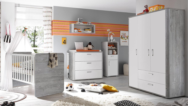 Mäusbacher 'FRIEDA' 6-tlg. Babyzimmer-Set vintage grey Bild 1
