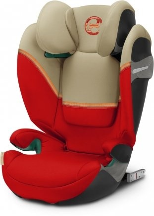 Cybex 'Solution S i-Fix' Autokindersitz 2021 Autumn Gold, von 15-36kg (Gruppe 2/3) Bild 1