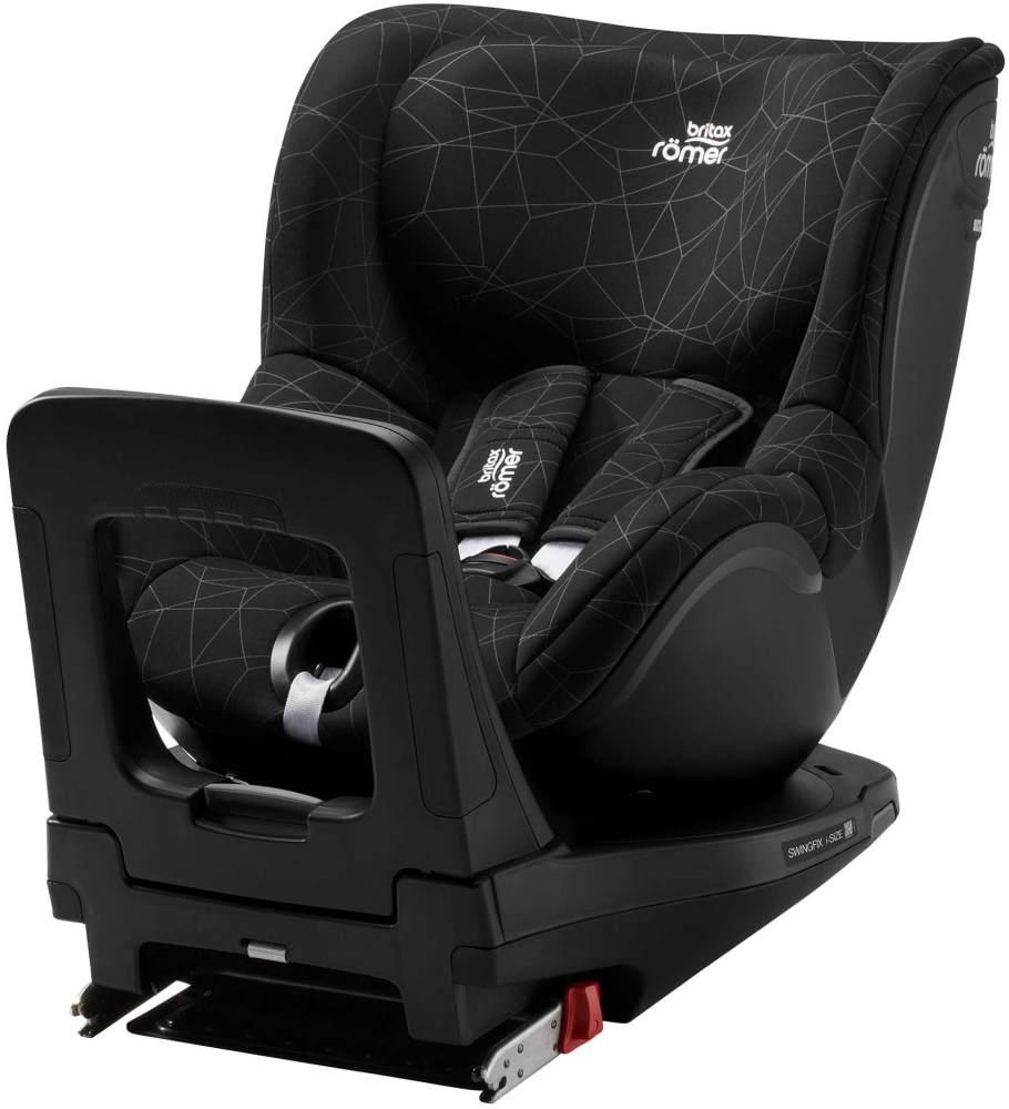 Britax Römer - Swingfix i-Size Kindersitz - Crystal Black Kollektion 2019 Bild 1