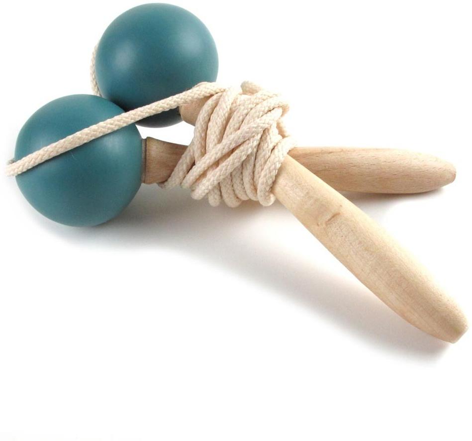 Nobodinoz Springseil Holz blau Bild 1
