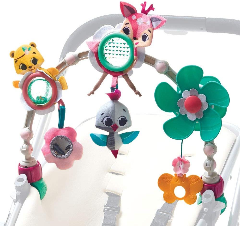 Tiny Love Spielbogen Sunny Stroll, Tiny Princess Tales, mit Rasselspielzeug, nutzbar ab der Geburt (0M+), Der verstellbare Clip passt auf die meisten Kinderwagen Bild 1