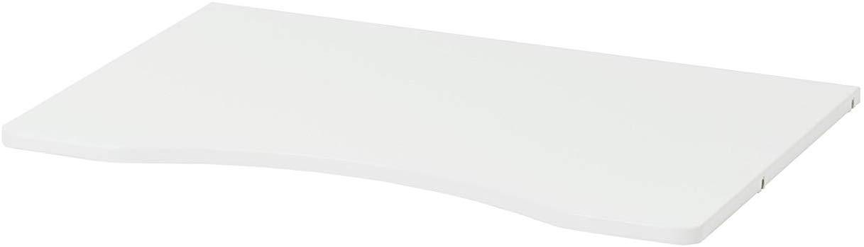 Hoppekids Storey, Tischplatte, Kiefer massiv, Weiß, 57 x 80 cm Bild 1