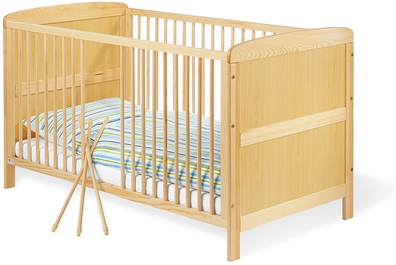 Pinolino 'Jakob' Kombi-Kinderbett natur Bild 1