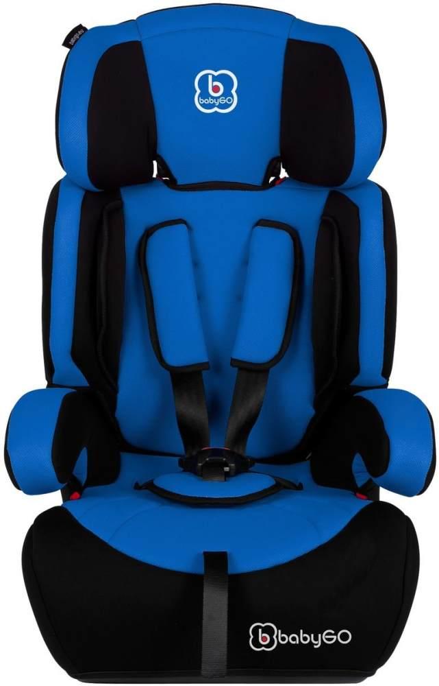 BabyGO 'Motion' Autositz in Blau, 9 bis 36 kg (Gruppe 1/2/3) Bild 1