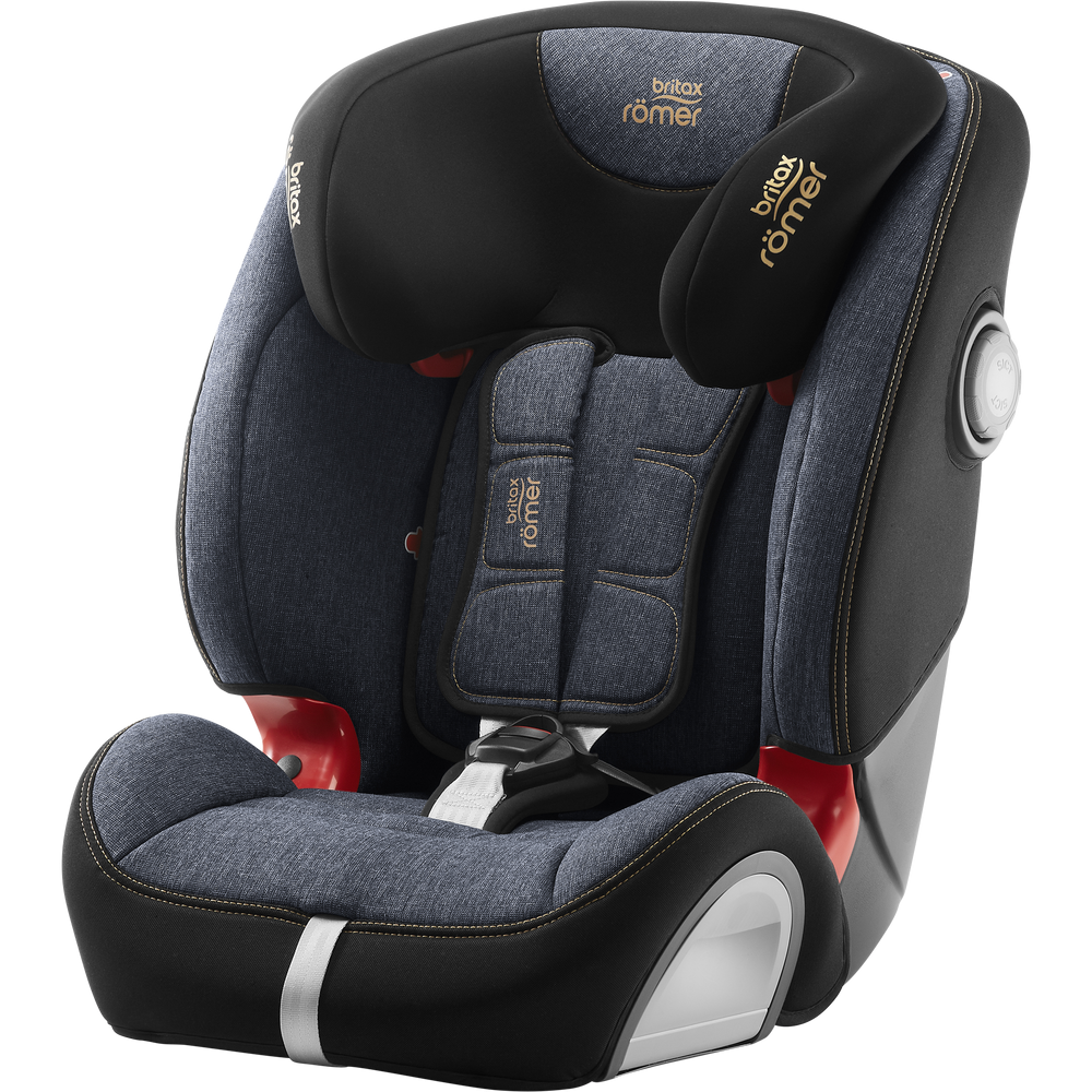 Britax Römer Kindersitz 9 Monate - 12 Jahre I 9 - 36 kg I EVOLVA 123 SL SICT Autositz Isofix Gruppe 1/2/3 I Blue Marble Bild 1
