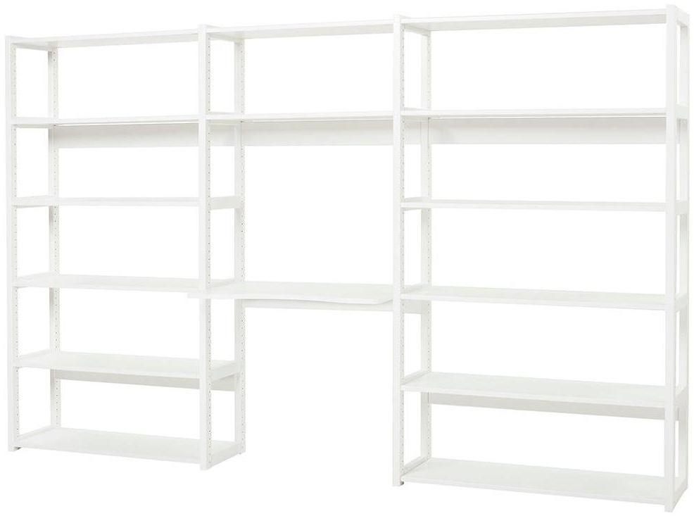 HOPPEKIDS Storey Regal Set mit 14 Regalböden und Schreibtisch 80 cm Bild 1