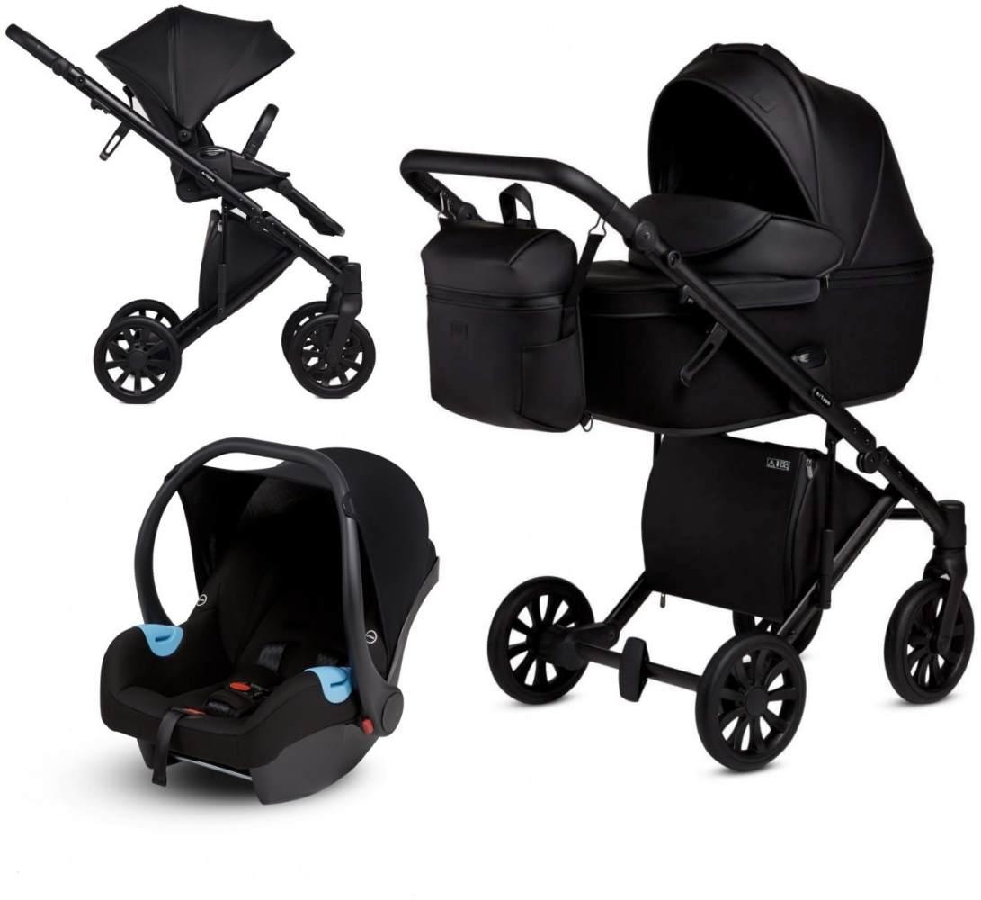 Anex 'e/type' Kombikinderwagen 4 in 1 2020 Noir, inkl. Babywanne und Babyschale Anex Bild 1