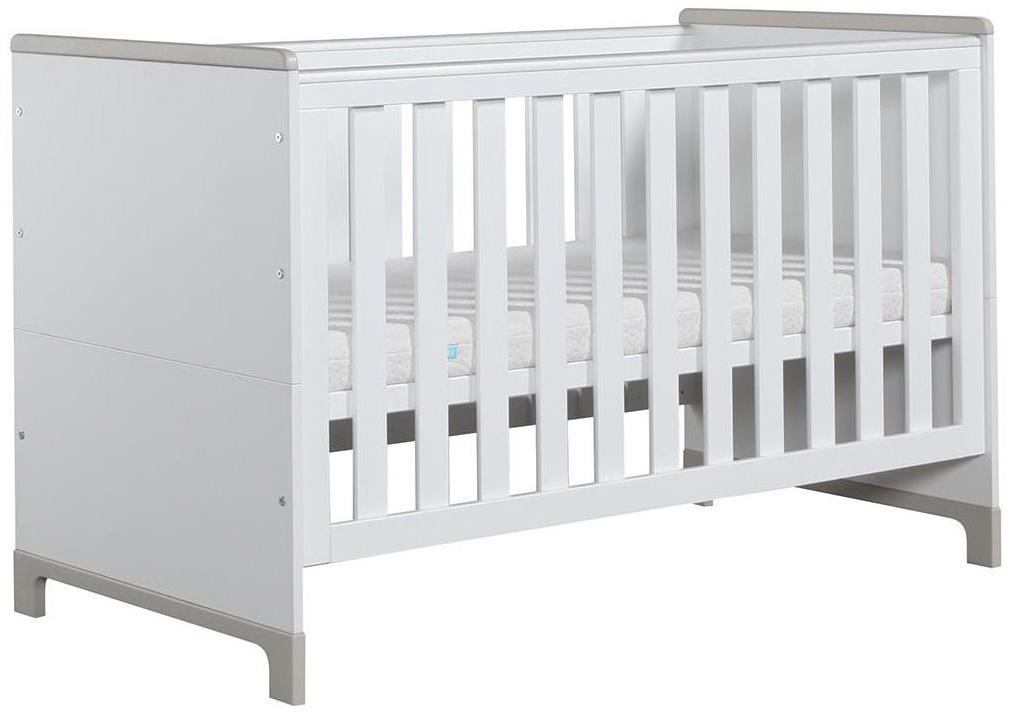 Pinio 'Mini' Kombi-Kinderbett weiß / grau Bild 1