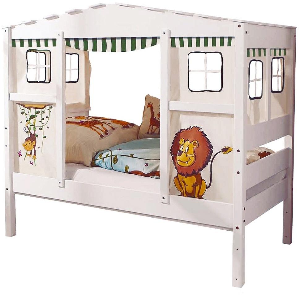Ticaa 'Safari' Hausbett Mini weiß Bild 1
