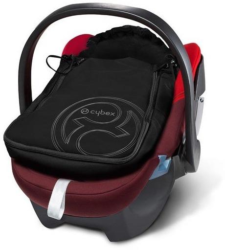 CYBEX Fußsack, Für Babyschale Aton, Grau Bild 1