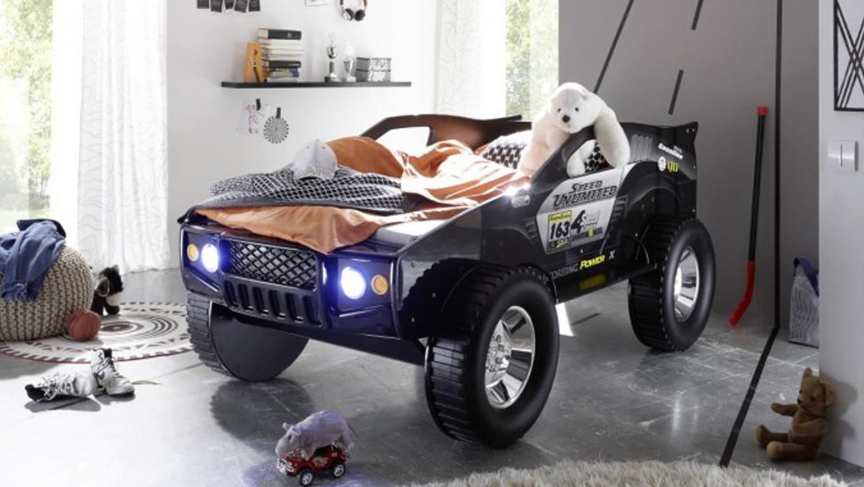 Bega 'SUV' Autobett 90x200 cm mit Beleuchtung, schwarz Bild 1