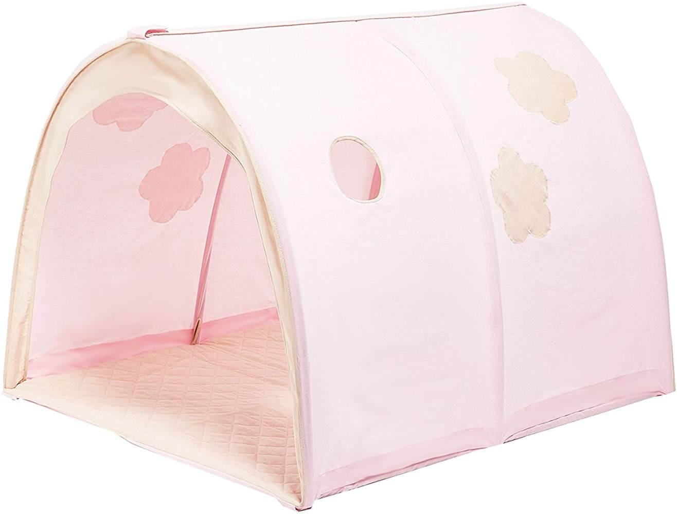 Hoppekids 'Fairytale Flower' Betttunnel / Spieltunnel rosa Bild 1