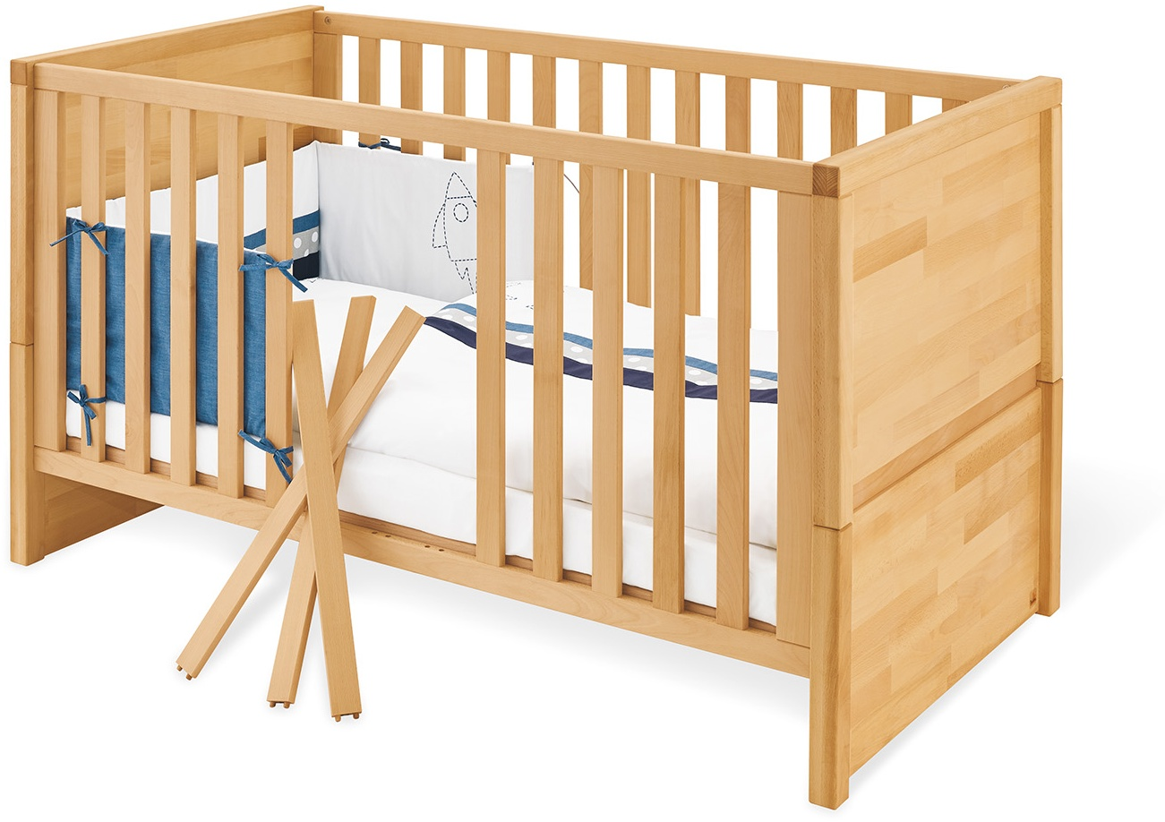 Pinolino 'Fagus' Kombi-Kinderbett natur Bild 1