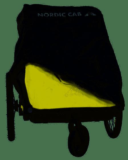 Nordic Cab Kinderanhängerabdeckung Explorer Urban Bild 1