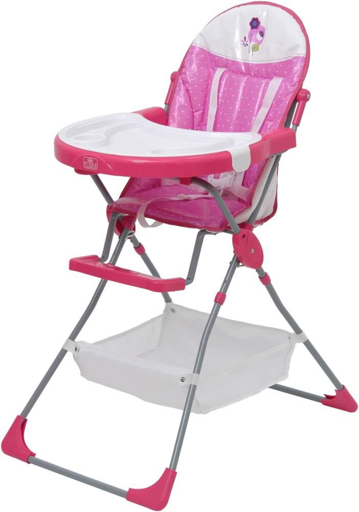Polini Kids Hochstuhl 'Joy Spring' 252 rosa Bild 1