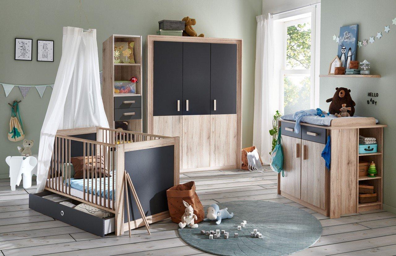 Babyzimmer Kiruna | 4 teiliges SuperSet von wimex Bild 1