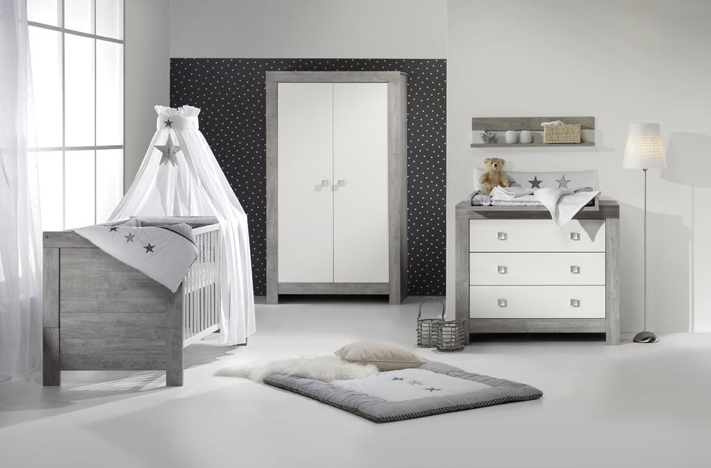 Schardt 'Nordic Driftwood' 3-tlg. Babyzimmer-Set Schrank 2-türig Bild 1