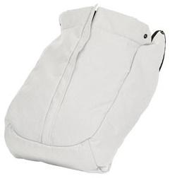 Emmaljunga Winddecke NXT Flat Leatherette White Kollektion 2021 Bild 1