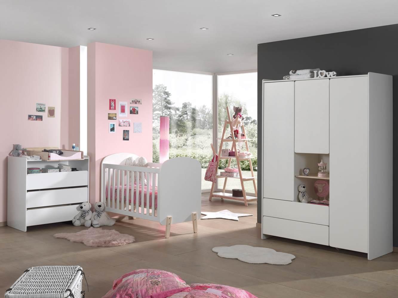 Vipack 'Kiddy' 4-tlg. Babyzimmer-Set Bild 1
