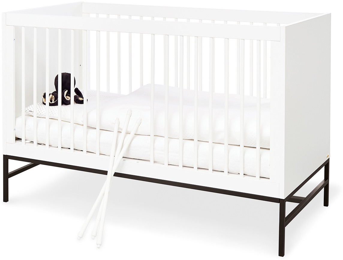 Pinolino 'Steel' Kinderbett weiß Bild 1