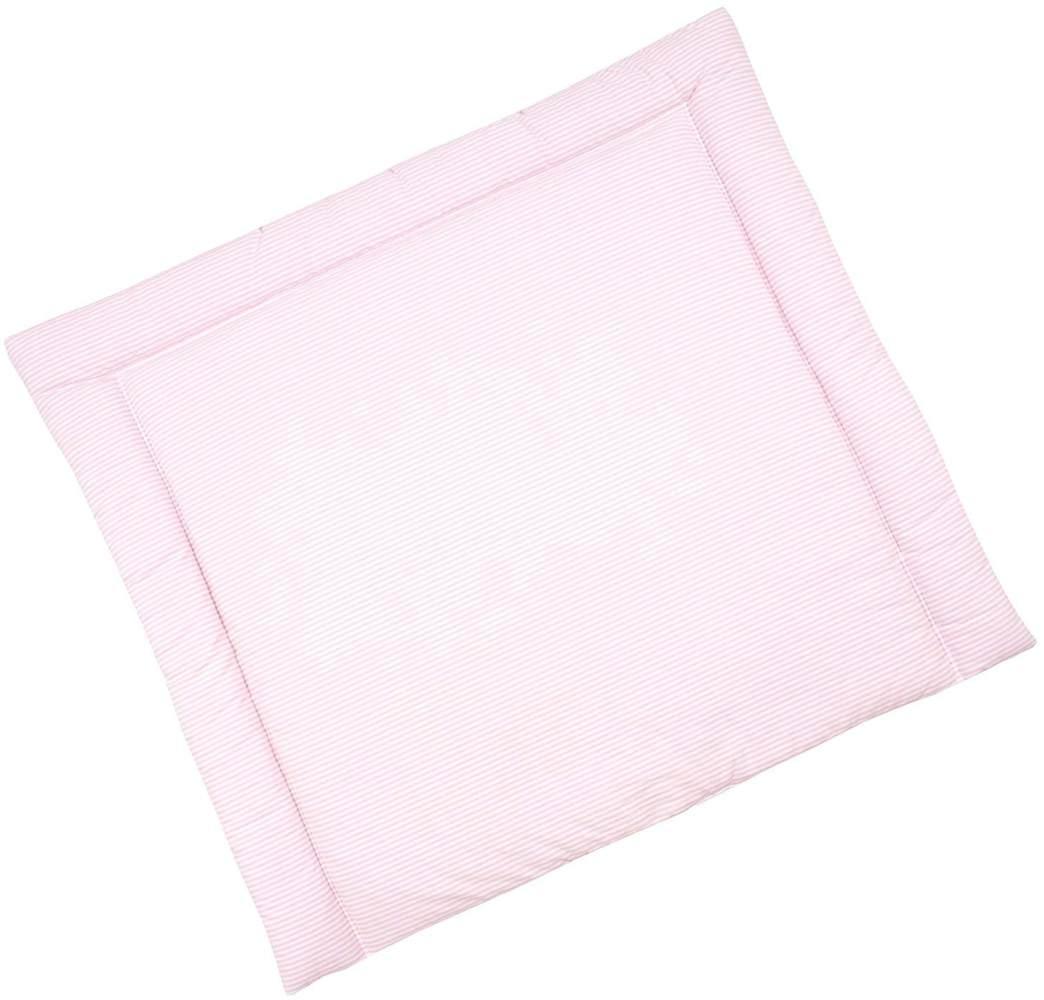 Sugarapple Wickelauflage rosa, Streifen Bild 1