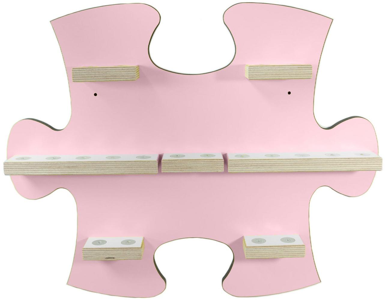 Schreinerei Linden 'Puzzle B' Tonie Regal ohne Ladestation, rosa Bild 1