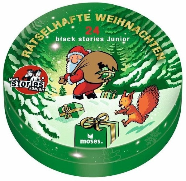 Moses 'Black Stories Junior - Rätselhafte Weihnachten' Bild 1