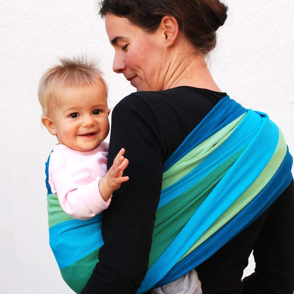 Didymos 308006 Babytragetuch, Modell Iris, Größe 6 Bild 1