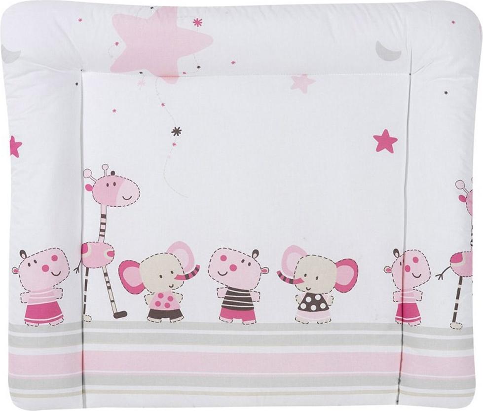 Schardt 13 610 00 00 1/655 Wickelauflage Banjo pink, abwischbare Folie, 84 x 74 cm Bild 1
