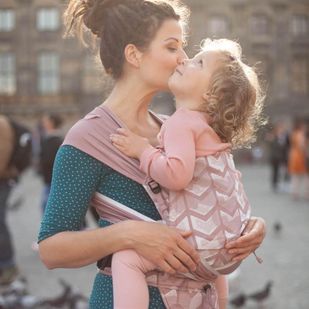Hoppediz 'Hop-Tye Buckle Amsterdam' rose Bild 1