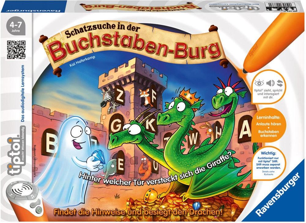 Ravensburger - tiptoi - Schatzsuche in der Buchstabenburg Bild 1