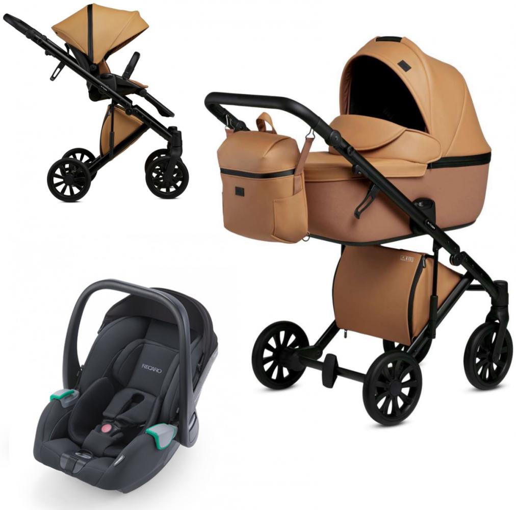 Anex 'e/type' Kombikinderwagen 3 in 1 2020 Caramel mit Babyschale Recaro Avan Bild 1
