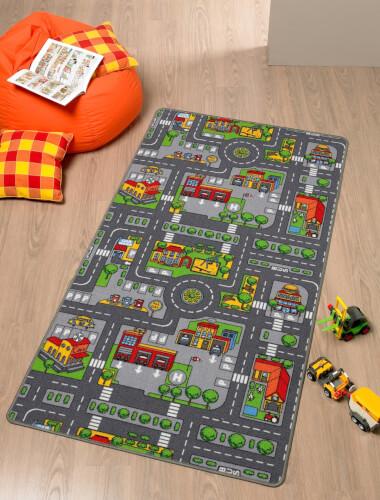 Spielteppich City 80 x 120 cm Bild 1