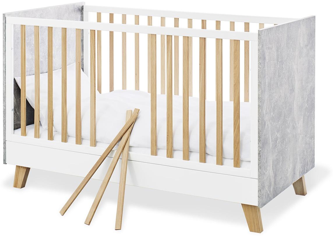Pinolino 'Apollo' Kombi-Kinderbett weiß Bild 1