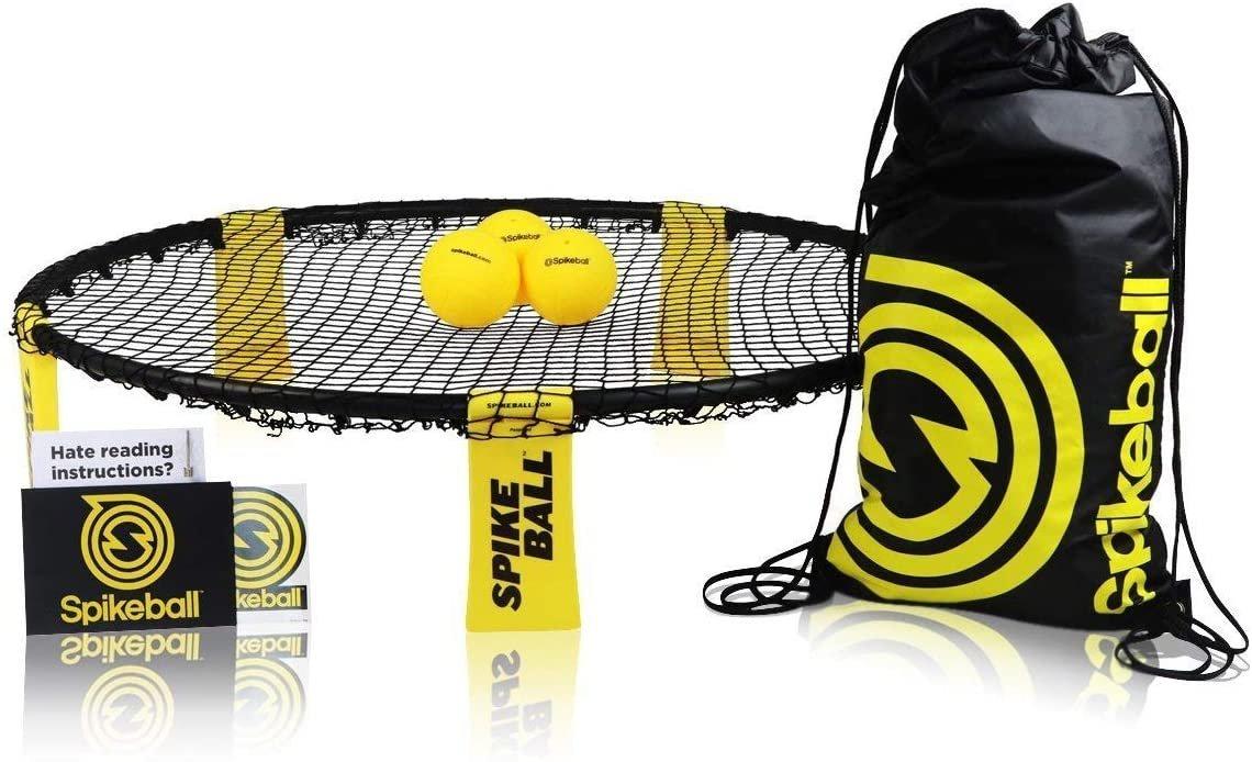 Spikeball 'Standard Set', schwarz/gelb, inkl. 3 Bälle, Tasche und Anleitung Bild 1