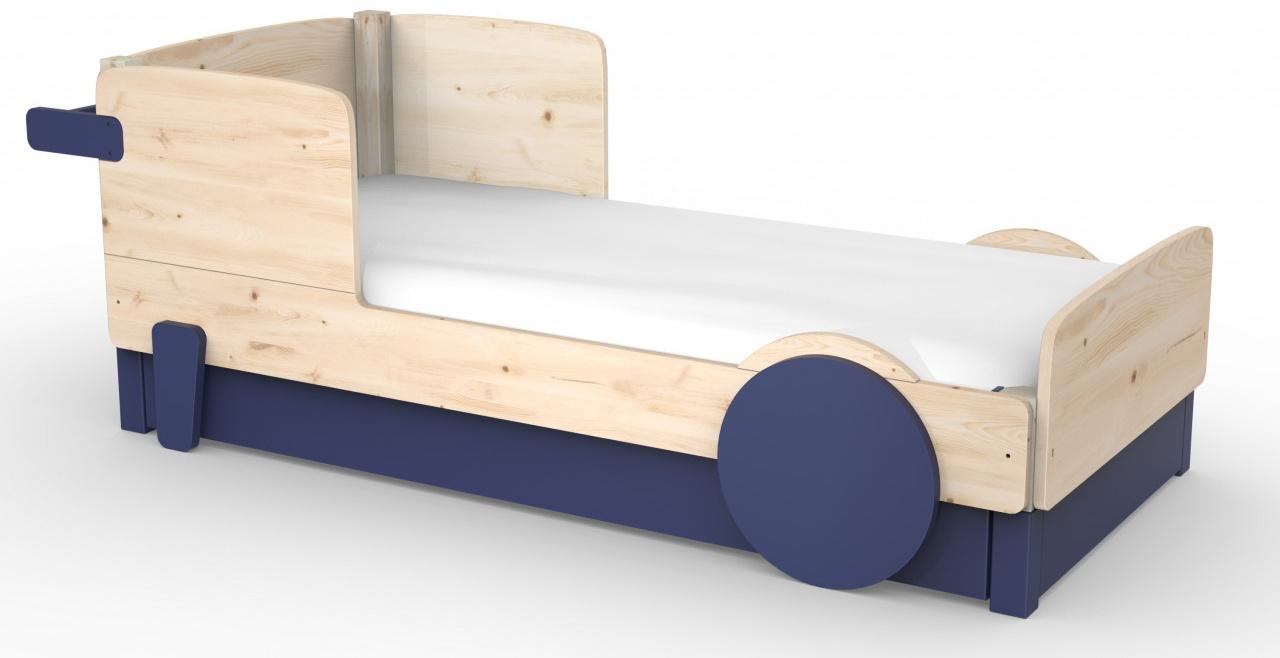 Mathy by Bols Discovery 1 Einzelbett 90x190cm Unbehandelt ausziehbares Bett Bild 1