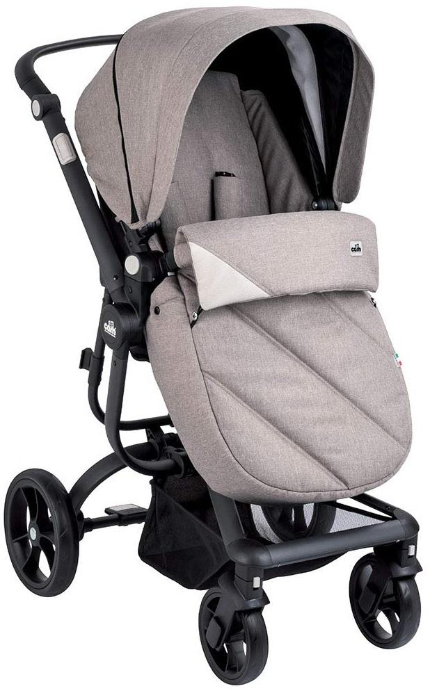 CAM 'Taski Sport' Kombi-Kinderwagen Beige/Schwarz Bild 1