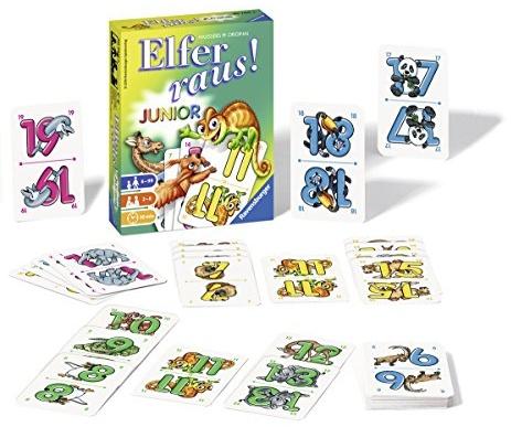 Ravensburger Kartenspiele 20760 - Elfer raus! Junior Bild 1