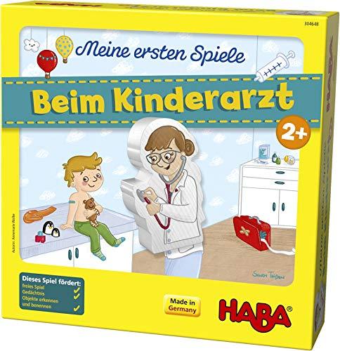 HABA 304648 - Meine ersten Spiele – Beim Kinderarzt, Lern- und Memospiel für 1-4 Spieler ab 2 Jahren, bereitet spielerisch auf den Artzbesuch vor Bild 1