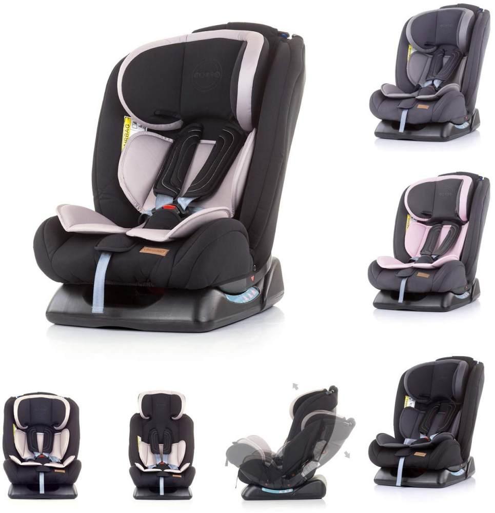 Chipolino Kindersitz Corso Gruppe 0+/1/2/3 (0 - 36 kg), 5-Punkt-Gurt, 3D-Pad beige Bild 1