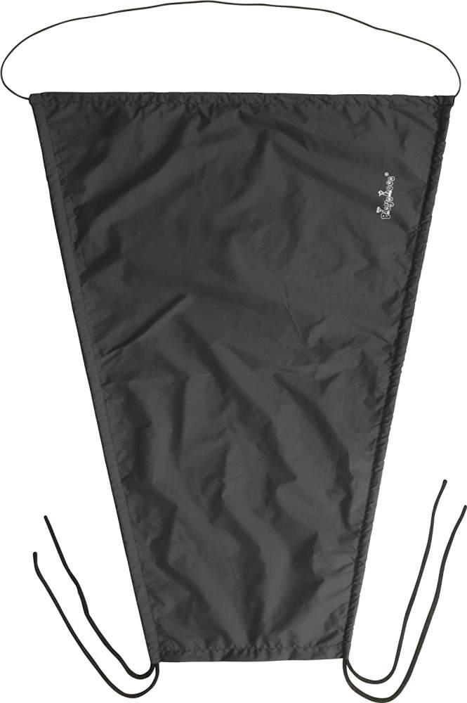 Playshoes Baby Sonnensegel für den Kinderwagen, schwarz, 75 x 55 cm Bild 1