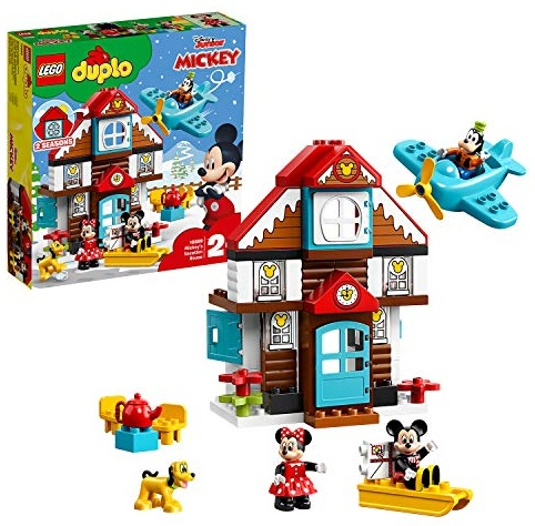 LEGO 10889 DUPLO Disney Mickys Ferienhaus, Bauset für Kleinkinder Bild 1